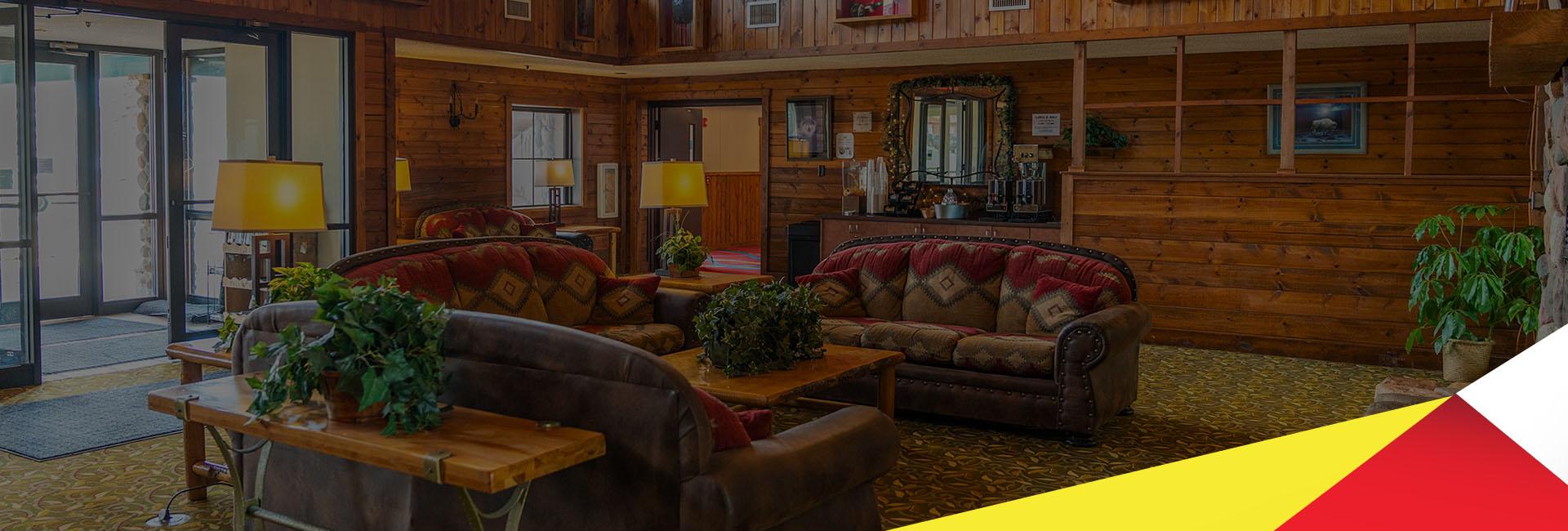 Authentic Northwoods Lodge